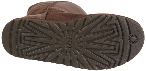Triplet Bailey Botas planas Button Ugg Marrón Chocolate qaFwx1E