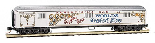 Micro-Trains MTL N-Scale Ringling Bros. Advertising Car #3 (Greatest Shows)