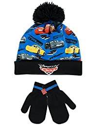 Disney Cars Boys' Cars Hat and Gloves Set Multicolored One Size