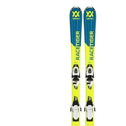 (フォルクル) VOLKL キッズ スキー板 + ビンディング [RACETIGER JR+4.5 VMOTION] イエロー 110cm