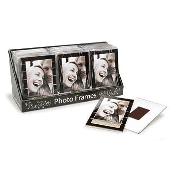 Amazon.com - Bulk Buy: Darice DIY Crafts Magnetic Photo Frame Black ...