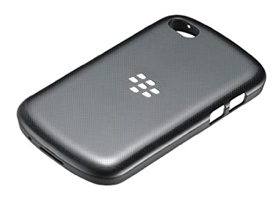 BlackBerry Hard Shell for BlackBerry Q10 - Black by BlackBerry