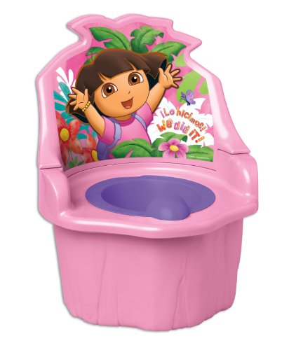 Nickelodian Dora The Explorer 3 in 1 Potty Trainer, Pink