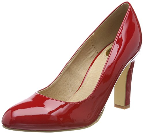 red Rosso Scarpe Con P2010l 1 Tacco Patent Buffalo C473a Donna xa8qzz