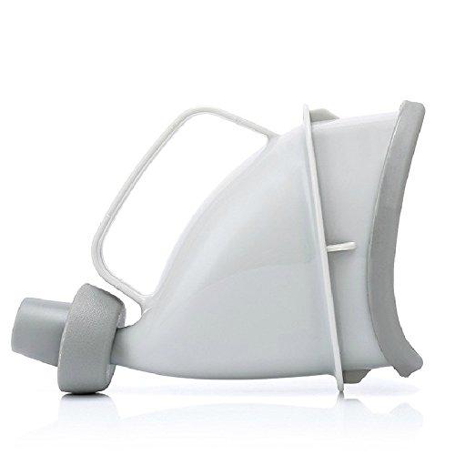 Ruiting Urinoir durgence ext/érieur Multifonctionnel portatif de Support de Femme Fish Finders Blanc