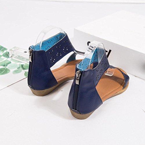 Lisa EU Mujer Damen 144155 de Color Multicolor Romana Schuhe SANFASHION Talla 41 SANFASHION Piel Bekleidung RnFwqBx84