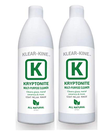 KLEAR KINE Kryptonite Glass Cleaner | Clay Based Formula | 420 & 710...