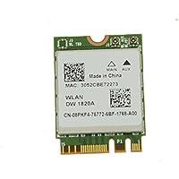 Dell XPS 13 9350 BCM94350ZAE DW1820A WiFi WLAN+Bluetooth Wireless-AC Card 8PKF4