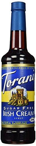 - Torani Sugar Free Irish Cream Syrup, 750mL