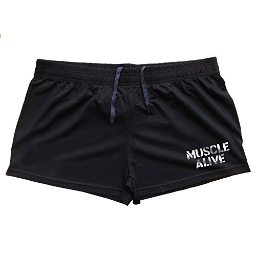 MUSCLE ALIVE Mens Bodybuilding Shorts 3