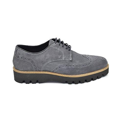 drudd  Eual060aw1701,  Herren Derby-Schuhe Grau
