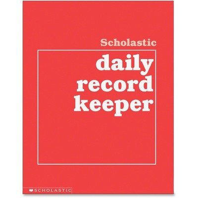 Scholastic Daily Record Keeper, Grades K-6, 11 x 8-1/2 Inches, 64 Pages (SHS0590490680) by Scholastic