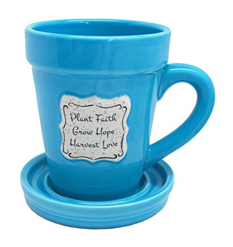 Divinity Boutique Mug Saucer Garden Spoon Plant Harvest product image