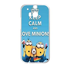 SANYISAN Minions Case Cover For HTC M8 Case