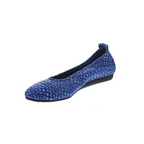 Arche Donna Laius In Vernice Zaffiro Popa Goffrato - Blu Brillante / Azzurro - Taglia 41 M