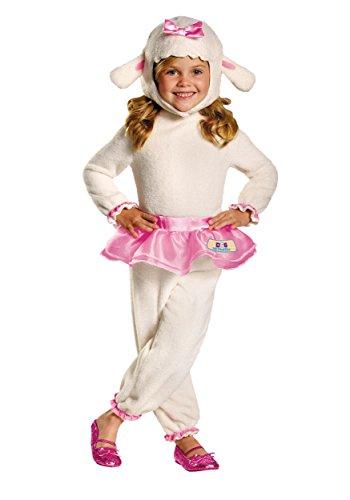 Disney Doc Mcstuffins Lambie Classic Toddler Costume, Large/4-6x