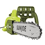 "Sun Joe SWJ599E 14"" 9-Amp Tree Limb Master Electric Handheld Chainsaw with Low-Kickback"