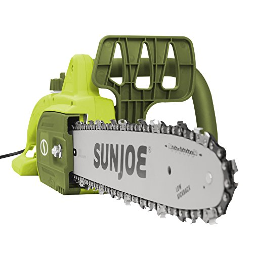 Sun Joe SWJ599E 14-inch 9-Amp Tree Limb Master Electric Handheld Chainsaw with Low-Kickback