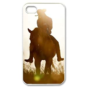 Horse Running Original New Print DIY Phone Case for Iphone 4,4S,personalized case cover ygtg521564