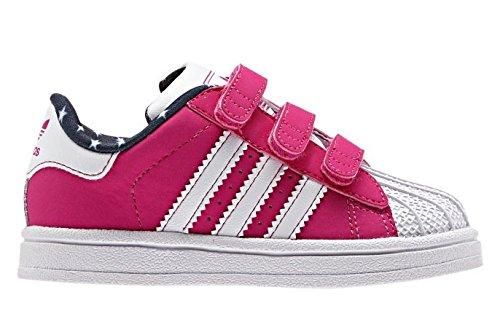 adidas superstar pink kinder