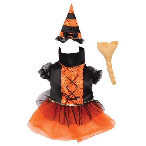 Casual Canine Polyester Spellhound Witch Dog Costume, X-Small, 8-Inch, Colors Vary, My Pet Supplies