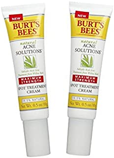 product image for Burt's Bees Natural Acne Solutions Maximum Strength Spot Treatment Cream 0.5 oz (Pack of 2)