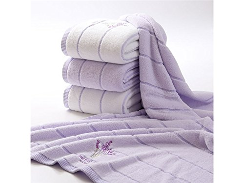 Multifunctional Tool Lavender Towels Neutral Towelling Bathrobe Towel Bath Robe Baby Quality Bath Towels_Lavender by Yiyane
