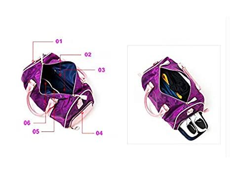 WRI.UY Comouflage for Women Fitness Waterproof Oxford Men Gym Sports Excursion Storage Shoulder Bag Sac De Sport Bags