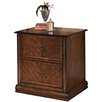 Ashley Furniture Signature Design - Hamlyn File Cabinet - 2 Drawer - European Flair - Medium Brown