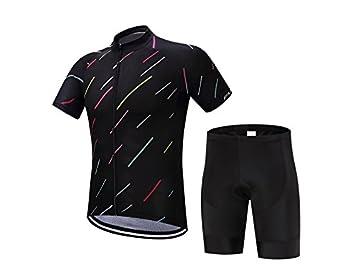 XDXDWEWERT Pantalones de Ciclismo Pantalones de Montar en BIC Conjunto de Ciclismo para Hombre Summer Outdoor