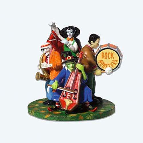 Dept 56 Accessories MONSTERS ROCK BAND Ceramic Village Halloween Dracula 53245
