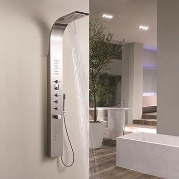 HUDSON REED - Colonne de Douche Thermostatique Design Multifonction Niagara