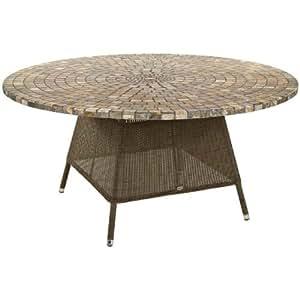 Alexander Rose San Marino 150cm Patio Table with Mosaic Top