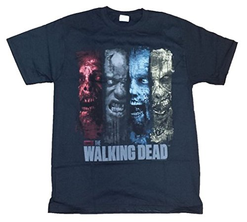 The Walking Dead Zombies Pane Licensed Graphic T-Shirt