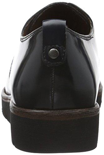 Tamaris 23301, Zapatos de Cordones Oxford para Mujer Azul (NAVY 805)