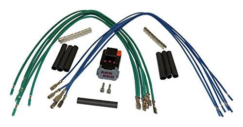 1997-2006 TJ Wrangler w/ HaBody Side Hard Top Plug Kit; Kit Is Needed If Installing a 2003-2006 TJ Wrangler Hard Top on a 1997-2002 TJ Wrangler. (Jeep Wrangler Hardtop Wiring)