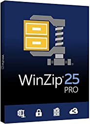 Corel WinZip 25 Pro | File Compression, Decompression & Backup Software [PC Key C
