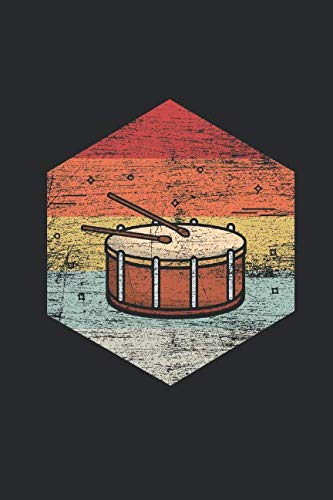 Drum: Blank Lined Notebook