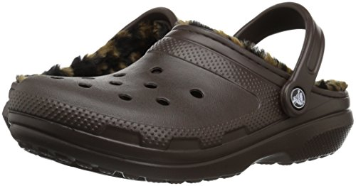 Images of Crocs Women's Classic Lined Animal Clog Mule B(M) US