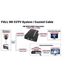 101AV 18.5 pulgadas LED 16: 9 monitor 3D profesional peine HDMI VGA filtro y entradas de bucle BNC audio y audio altavoces para CCTV DVR sistema de vigilancia de la oficina en casa negro seguro