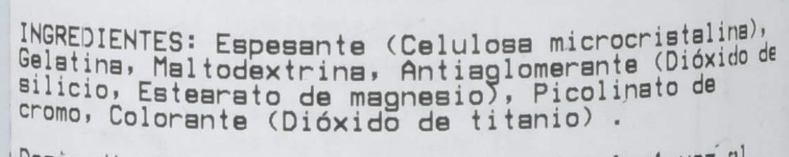 Picolinato de cromo 100 cápsulas