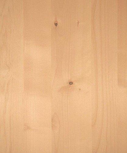 Knotty Alder Wood Veneer, Random Planked, 4x8 PSA Adhesive Back