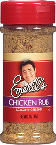 Emeril's Chicken Rub Seasoning Blend, 3.7 Ounce