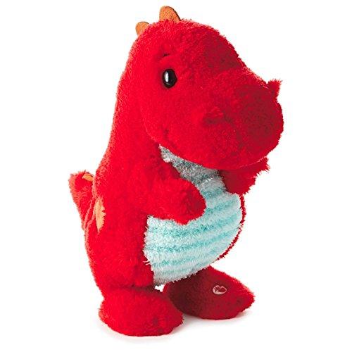 Hallmark Valentine's LPR1126 Love-a-Saurus Interactive Stuffed Dinosaur