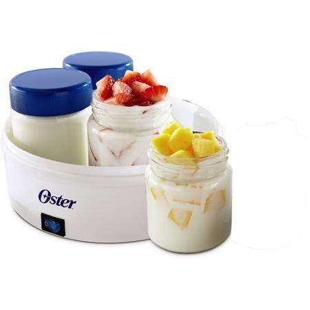 Oster Compact Manual Greek Yogurt Maker, White