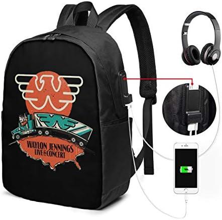 ビジネスリュック ウェイロン ジェニングス メンズバックパック 手提げ リュック バックパックリュック 通勤 出張 大容量 イヤホンポート USB充電ポート付き 防水 PC収納 通勤 出張 旅行 通学 男女兼用