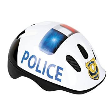782f9e715c4 KIDS CHILDRENS BOYS GIRLS CYCLE SAFETY HELMET BIKE BICYCLE SKATING 49-56cm  Police: Amazon.ca: Electronics