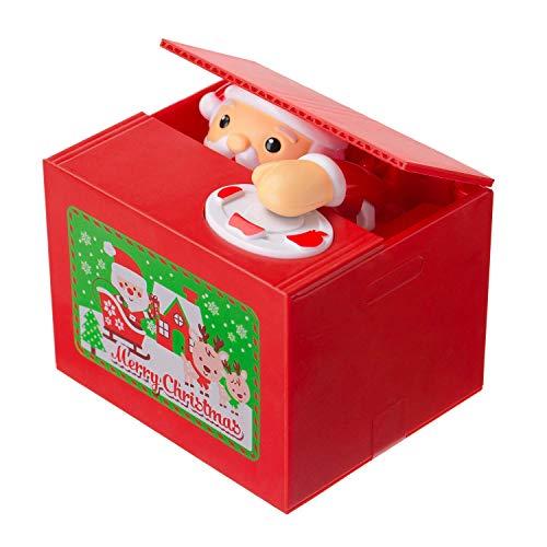 Alien Tech Musical Electronic Santa Coin Bank Piggy Bank Money Saving Box for -