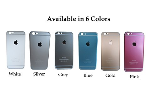 iPhone 6 Protective Skin case by Arceso, BLUE, Ultra Slim case, Anti