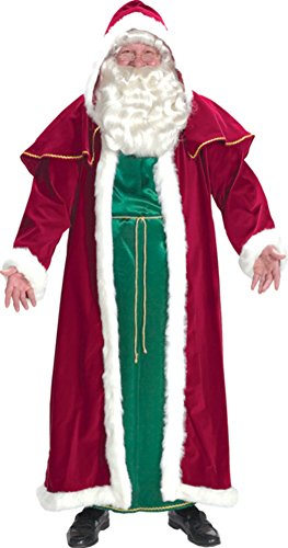 Santa Suit Victorian Adult Mens Costume St. Nick Holiday Christmas Photo Opp